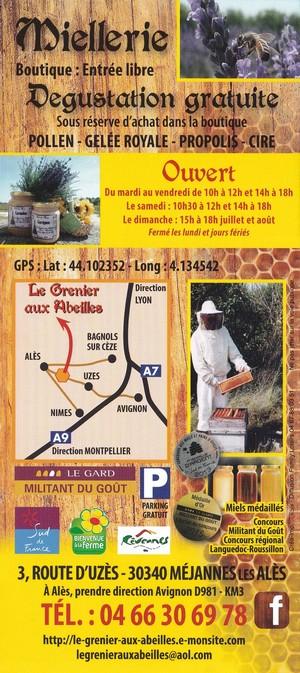 Verso 2015 le grenier aux abeilles